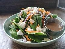 Spinach Pesto Salad HomeQuarter Coffee H