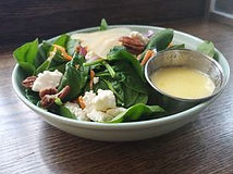 Pear and Feta Salad HomeQuarter Coffee H
