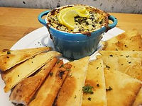 Spinach and artichoke dip HomeQuarter Co