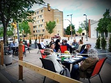 HomeQuarter Coffee House Patio Saskatoon