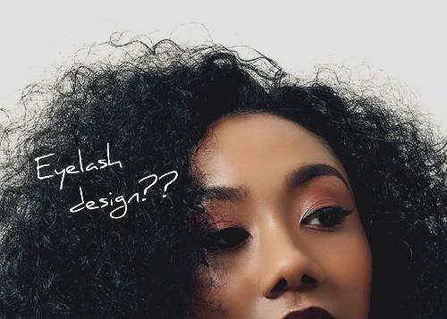 恵比寿マツエクサロンの外国人風メイクデザインモデル