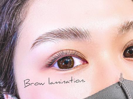 【眉毛別】毛流れを整える!おすすめのブロウラミネーション♪