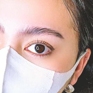 menu : 眉毛ブロウラミネーションとまつげパーマ【¥10,000→初回¥9,000(120min)】