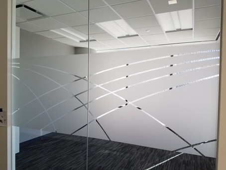 Transform Your Space with Frosted Glass Vinyl Graphics