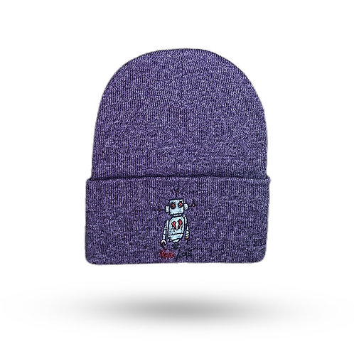 F@ck Love Beanie (Purple)