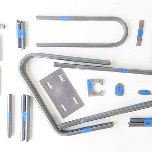 Metal Mini Bike Kite MFC002 Pieces