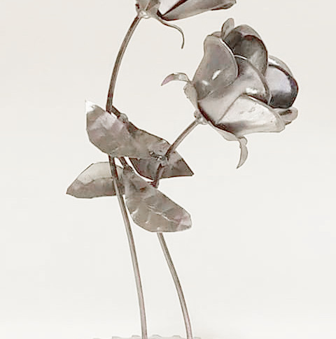 Metal Dancing Flowers Custom