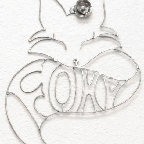 Custom Metal Fox Sign