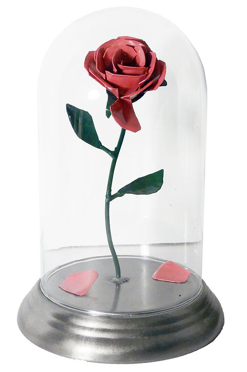 Rose Inside Glass Dome