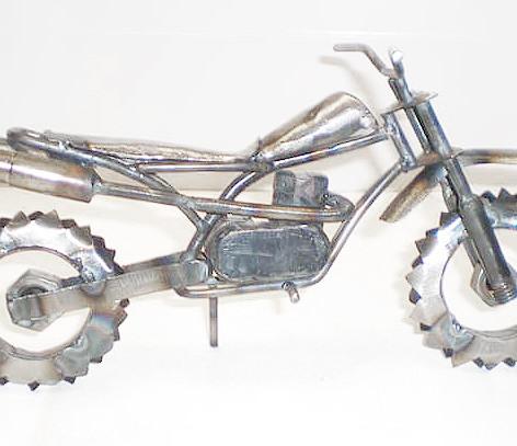 Metal Custom Dirt Bike