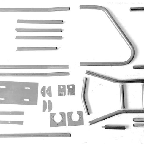 Metal Mini Bike Kit MFC001 Pieces