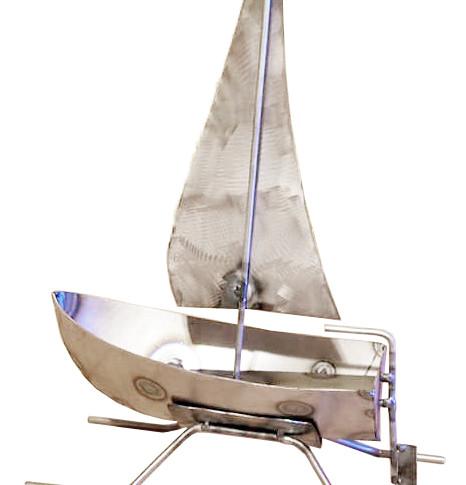Metal Custom Sail Boat