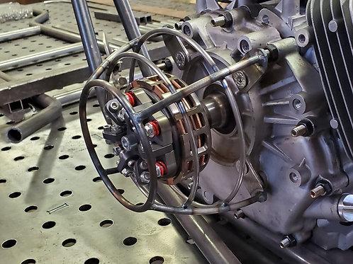 Clutch Guard Cage for Predator 420 & Honda gx390