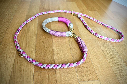 "Leine + Halsband ""Beauty"""