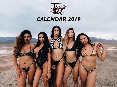 NO FUR CALENDAR 2019