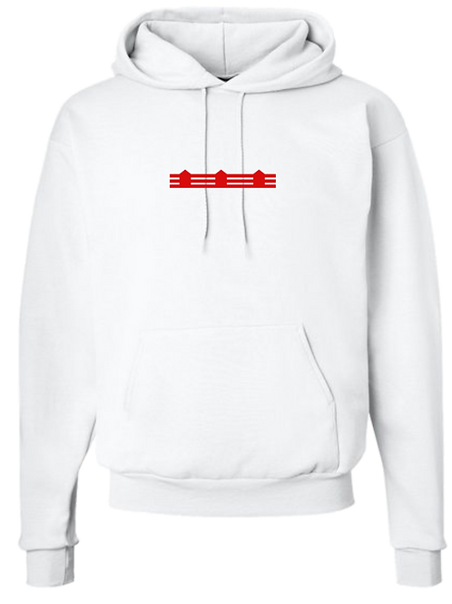 FENCE [WHITE] HOODIE