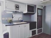 The Slumber Shack kitchen