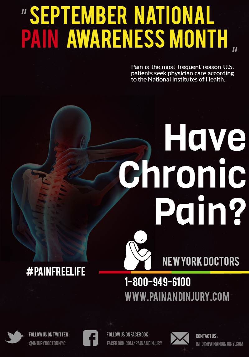 September is National Pain Awareness Month - painandinjury.com