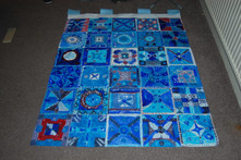 Islamic tile decoration