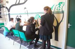 Secondary mural work