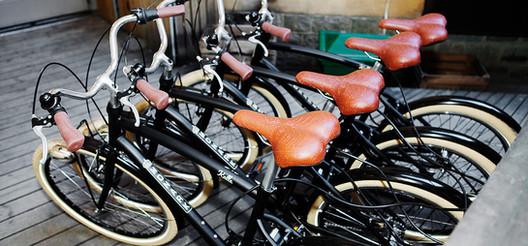 Free bike rental included
