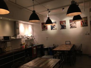 Big guest kitchen