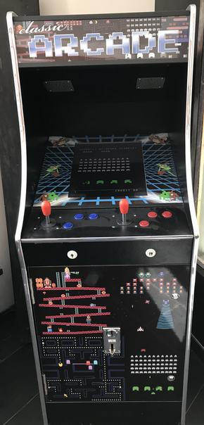 Free Arcade games with more than 200 original retro games
