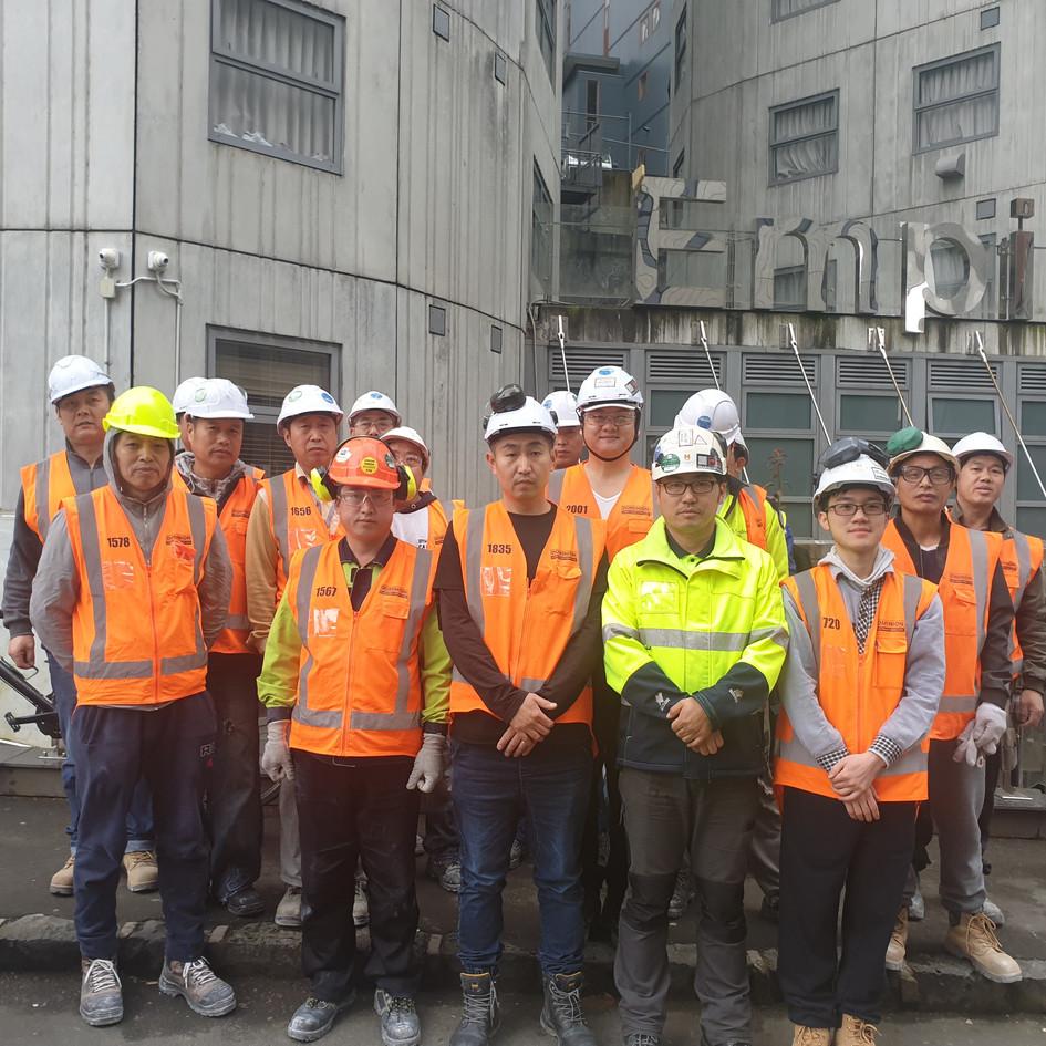 Waipururu Hall Carpenters Team