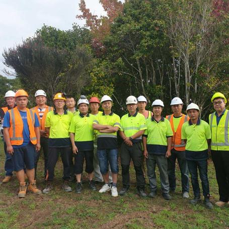 Park Hyatt Hotel Carpenters Team