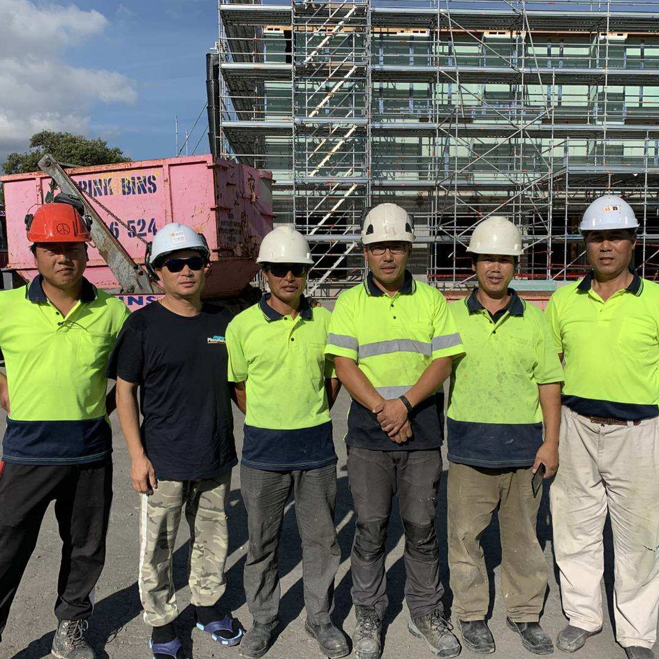 Avondale Apartment Carpenters Team
