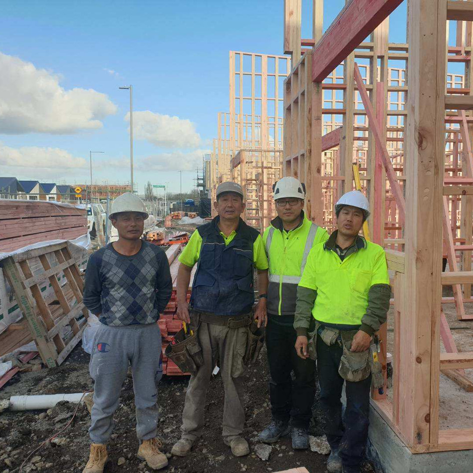 Takanini Townhouse Carpenters Team