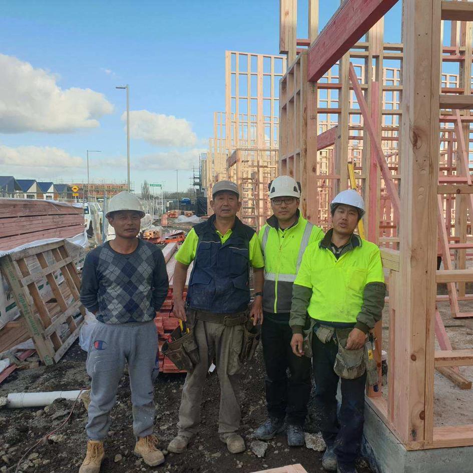 Takanini Townhouse Carpenters Team