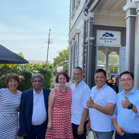 Labor MP Deborah Russell, Chairman of Multicultural Sector Romy Uganda and Northcote MP Candidate Shannon are concerned about the Covid19 in Wuhan, China and pray for China.