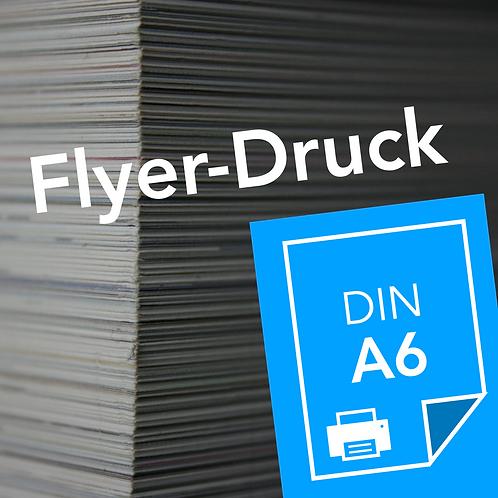 Flyer-Druck auf DIN A6
