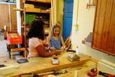 Mittwoch 29.07. - Freude in der Holzwerkstatt