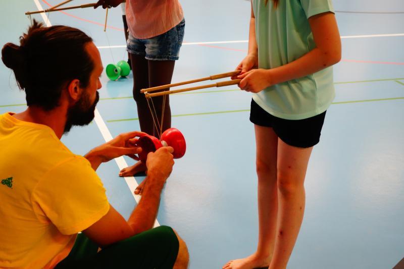 Zirkus, Sport, Spiele - Diabolo Workshop
