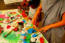 Zirkus, Sport, Spiele - Malen mit Farben
