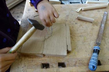 03.08 - Holz werken