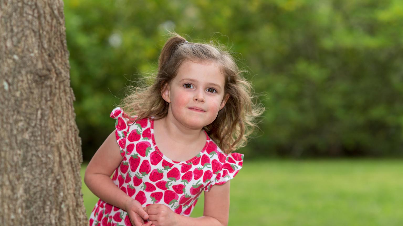 Children portraiture natural light