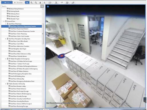 GallagherTM Access Control and AvigilonTM CCTV Systems for A Major Hospital