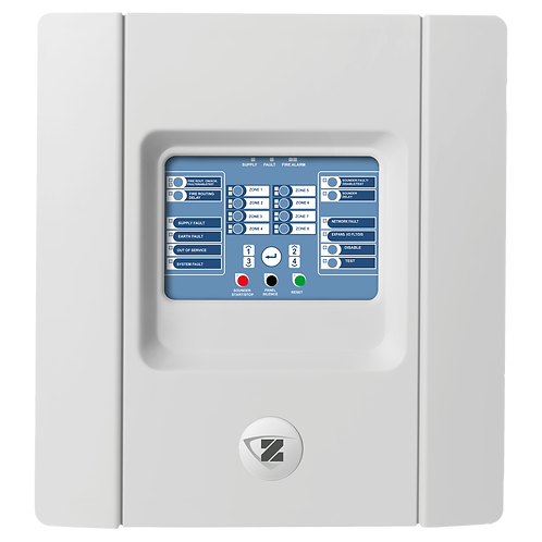 ZP1-F8-99 Conventional Fire Panel - 8 Zone - English