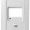 1X-C8-KK Conventional Fire Panel - Cabinet Front 8 Zone