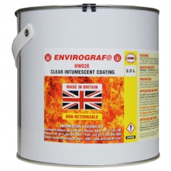 Envirograf 20L HW02E Clear Intumescent Coating