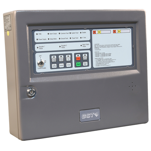 GST102A Conventional Fire Alarm Control Panel