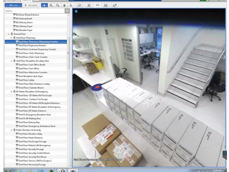GallagherTM Access Control and AvigilonTM CCTV Systems for A Major Hospital
