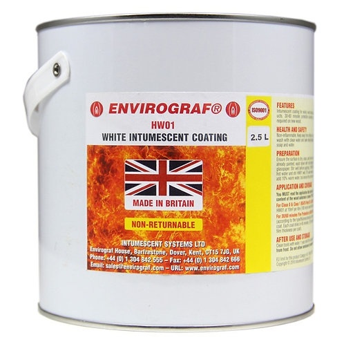 Envirograf  20L HW01 White wood  Intumescent