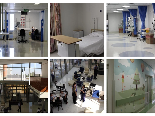 HD IP Video Surveillance Systems for new Hospital