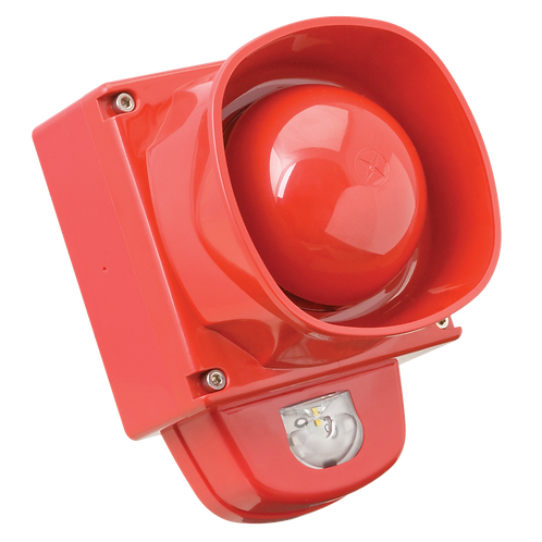 Ziton ZPW767R Addressable RED Sounder with a Built in Visual Alarm Device (VAD)