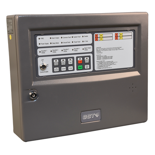 GST104A Conventional Fire Alarm Control Panel