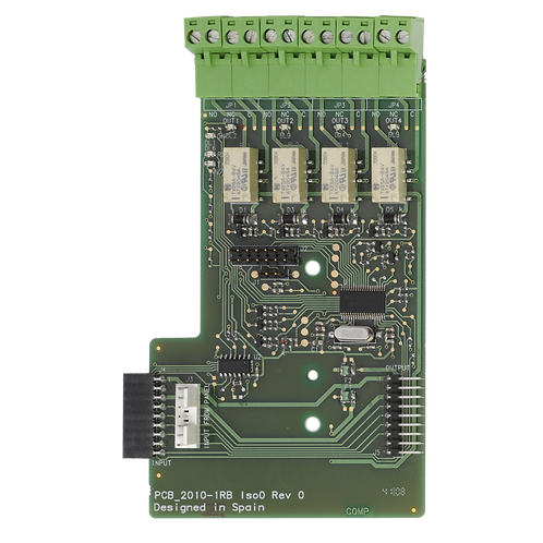 2010-1-RB Conventional Fire Panel Accessory - Relay Board - Unsupervised